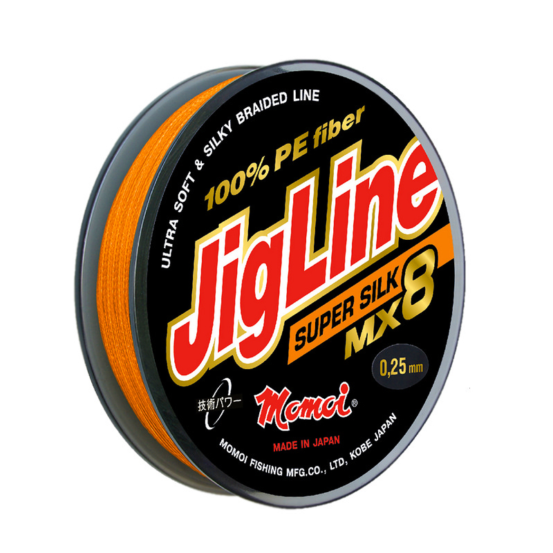 Плетеный шнур JigLine MX8 Super Silk 150м, цвет хаки